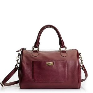 {J. Crew} 'Brompton' Leather Satchel